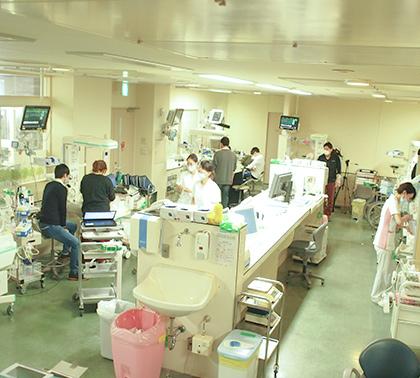 山梨県立中央病院総合周産期母子医療センターNICU